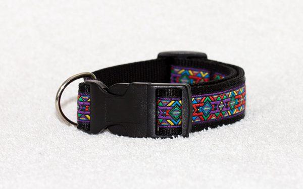 nylon halsband - halsbanden hond handgemaakt - unieke halsbanden – handgemaakte halsbanden