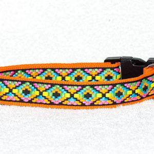 nylon hondenhalsband- halsbanden hond handgemaakt - handgemaakte hondenhalsbanden