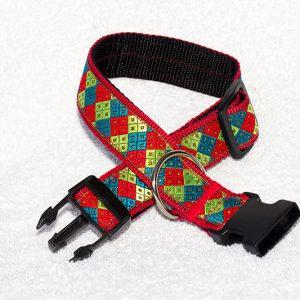 verstelbare halsband hond - halsbanden hond handgemaakt - handgemaakte hondenhalsbanden