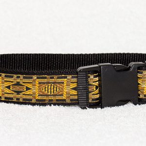 nylon honden halsband - halsbanden hond handgemaakt – halsband handgemaakt