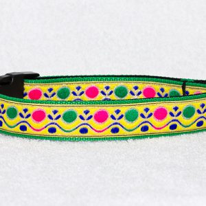 mooie hondenhalsband nylon - halsbanden hond handgemaakt – halsband handgemaakt