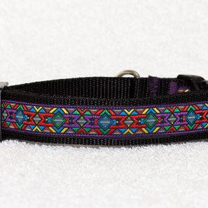 stoere handgemaakte halsbanden - halsband hond – hondenhalsbanden – nylon halsband