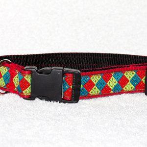 brede halsband hond - halsbanden hond handgemaakt – halsband handgemaakt