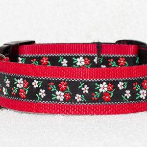 brede hondenhalsband nylon - halsbanden hond handgemaakt – gekleurde halsband handgemaakt
