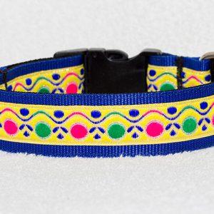stoere halsband hond - halsbanden hond handgemaakt – gekleurde halsband handgemaakt