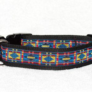 brede hondenhalsband - halsbanden hond handgemaakt - verstelbare halsband hond