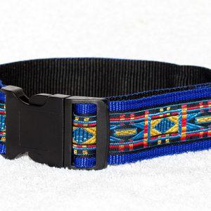 vrolijke halsbanden nylon - halsbanden hond handgemaakt – handgemaakte hondenhalsbanden