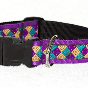 brede halsbanden handgemaakt
