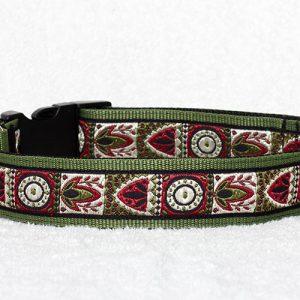 mooie honden halsbanden handgemaakt - brede halsband hond - hondenhalsbanden