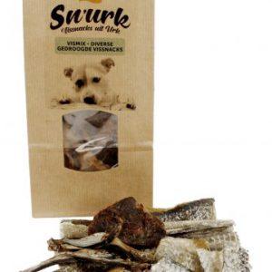 vis snack hond - snurk vissnacks - gedroogde vis hond – hondensnack – natuurlijke hondensnacks